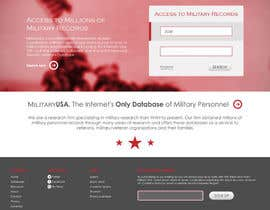 nº 26 pour Website Design for MilitaryUSA.com par WebofPixels