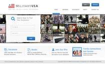 Contest Entry #36 for Website Design for MilitaryUSA.com