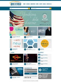 #18 for Design a Website Mockup for the Church by xpertsart