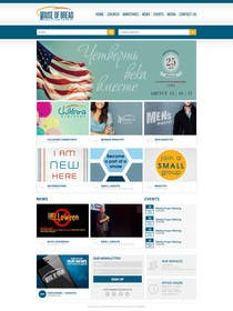 #22 for Design a Website Mockup for the Church by xpertsart