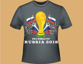 #34 for T-shirt World Cup 2018 by Creativemahade