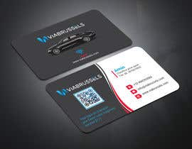#209 for Business Cards for my chauffeur website by Monirjoy
