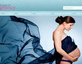 #75 for Design a Logo for my Pregnancy Site af Franstyas
