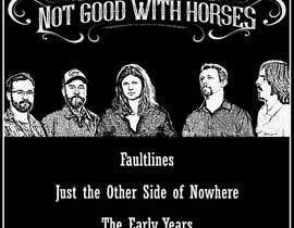 #6 สำหรับ T-Shirt Design for Alt Country band โดย ralphology