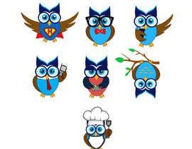 #90 for Simple Owl Logo Designs af usaithub