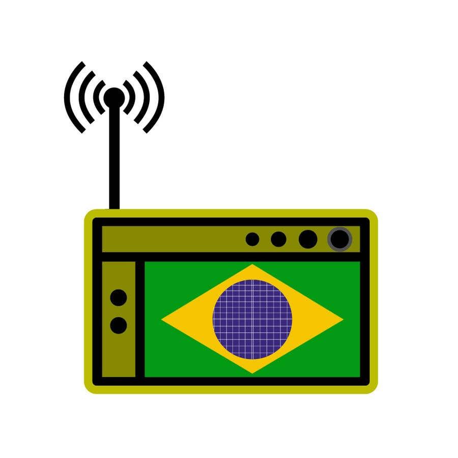 Kilpailutyö #13 kilpailussa Design an iOS application Logo - Radio App fro Brazil