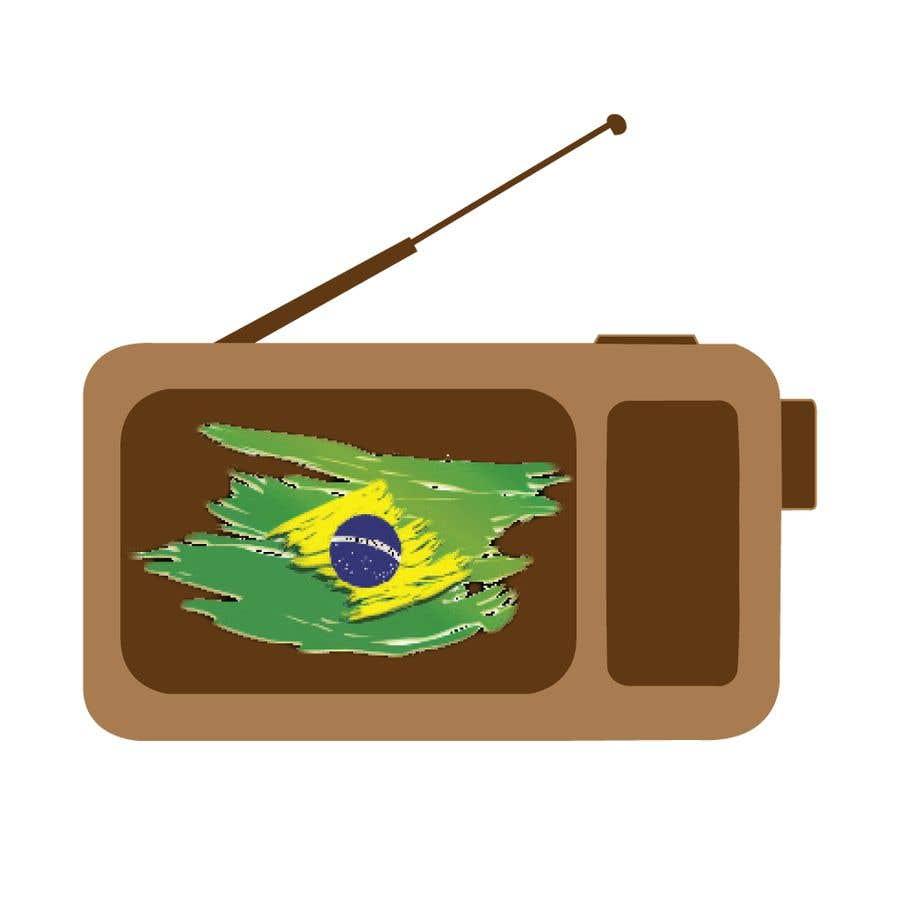 Kilpailutyö #11 kilpailussa Design an iOS application Logo - Radio App fro Brazil