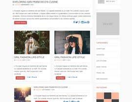 Nro 4 kilpailuun Create a WordPress Template käyttäjältä ganupam021