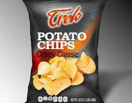 #30 for Logo dan Packaging Design for chips by debduttanundy