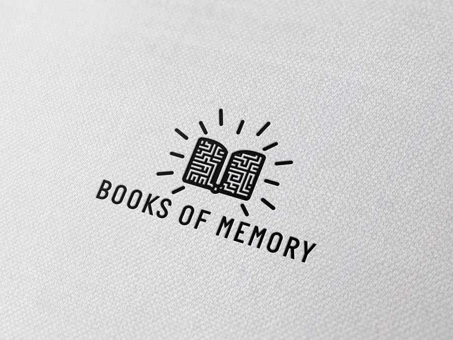 Penyertaan Peraduan #323 untuk BooksOfMemory Logo