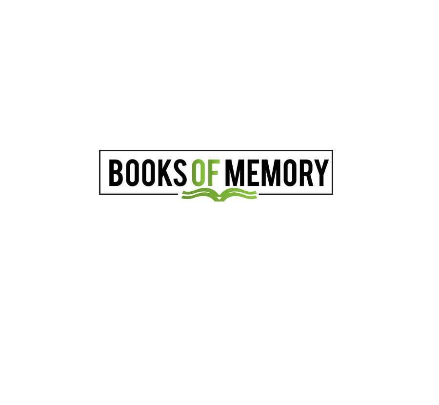Penyertaan Peraduan #155 untuk BooksOfMemory Logo