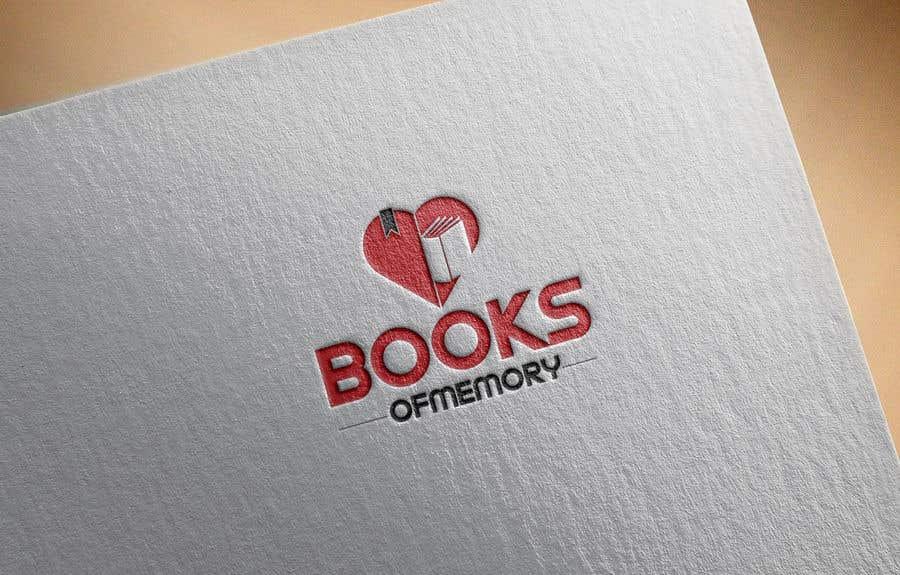 Penyertaan Peraduan #173 untuk BooksOfMemory Logo
