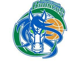 #44 for We like the Timberwolves & Dallas Wings logos & are looking for a graphical logo. Must include a bronco & a basketball (or half ball) in the logo. Logo needs to be high res & able to be used on signage & uniforms  (www.broadmeadowsbasketball.com.au) by ToaMota