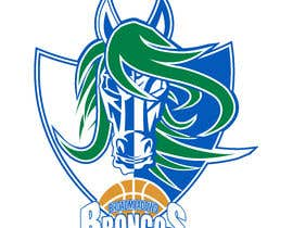 #48 for We like the Timberwolves & Dallas Wings logos & are looking for a graphical logo. Must include a bronco & a basketball (or half ball) in the logo. Logo needs to be high res & able to be used on signage & uniforms  (www.broadmeadowsbasketball.com.au) by ToaMota