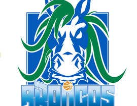 #50 for We like the Timberwolves & Dallas Wings logos & are looking for a graphical logo. Must include a bronco & a basketball (or half ball) in the logo. Logo needs to be high res & able to be used on signage & uniforms  (www.broadmeadowsbasketball.com.au) by ToaMota