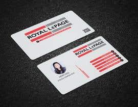 #30 untuk Business card design for a real estate agent oleh canik79