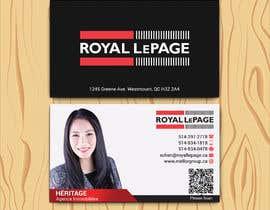 #38 untuk Business card design for a real estate agent oleh sabbir2018