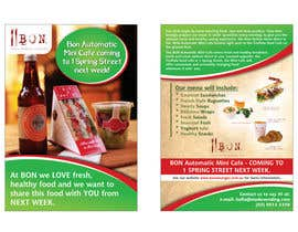 nº 19 pour Flyer Design for Bon a Manger par BuDesign