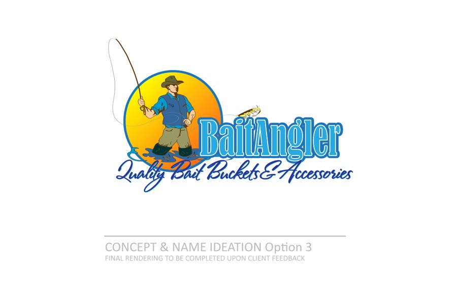Konkurrenceindlæg #                                        39                                      for                                         Logo Design for The Lively Angler or Bait the Hook Buckets  or an original new Brand Name)