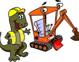 #6 para Cartoonists & Comic Artists - Need a logo of a T-Rex & an Excavator!!! por manikmoon