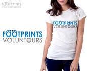 Graphic Design Inscrição do Concurso Nº19 para Logo Design for Footprints Voluntour Travel Tv