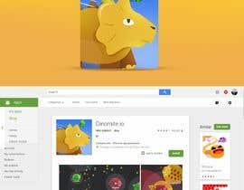 Nro 18 kilpailuun Design App Icon for Mobile Game (like Slither.io) käyttäjältä leandeganos