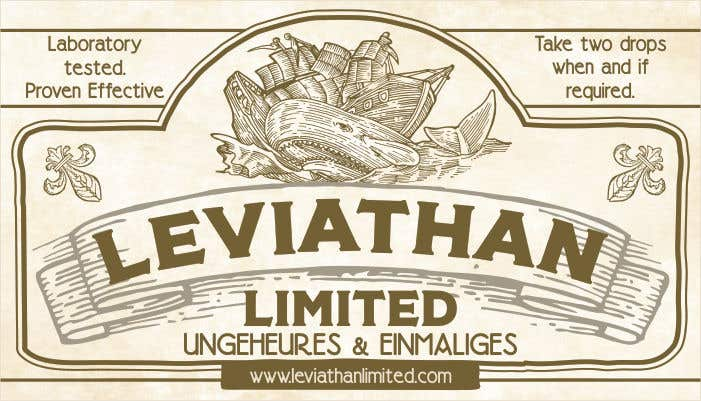 Contest Entry 47 For Vintage Inspired Business Card Old Medicine Label
