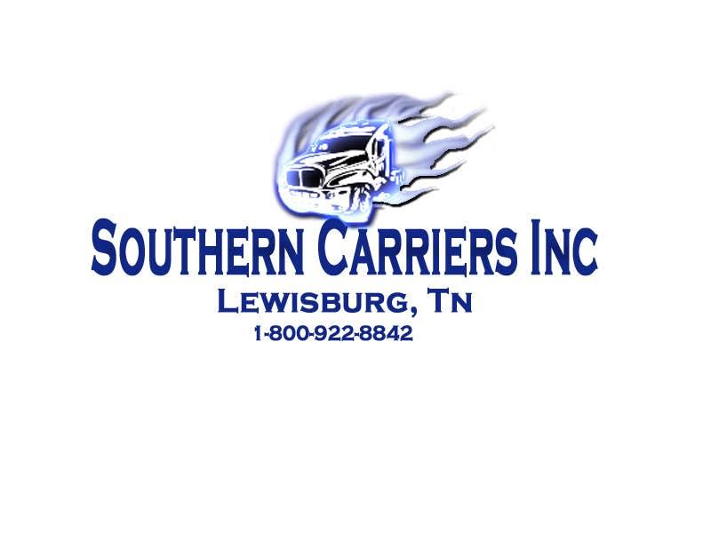 Kilpailutyö #                                        54                                      kilpailussa                                         Logo Design for Southern Carriers Inc