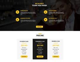 nº 7 pour Design a Website Mockup par Tonmoydedesigner