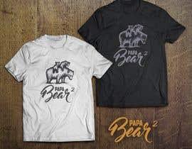 #60 for Pretty Basic Papa Bear T-shirt af avtoringUK