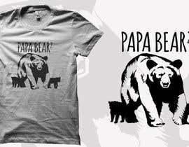#3 for Pretty Basic Papa Bear T-shirt af audiebontia