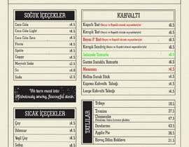 pyratek tarafından Modify already designed menu with new prices and alter some changes için no 21