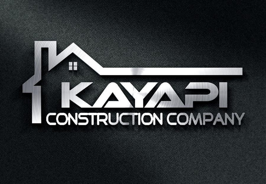 Penyertaan Peraduan #                                        17                                      untuk                                         Design a logo for our construction company