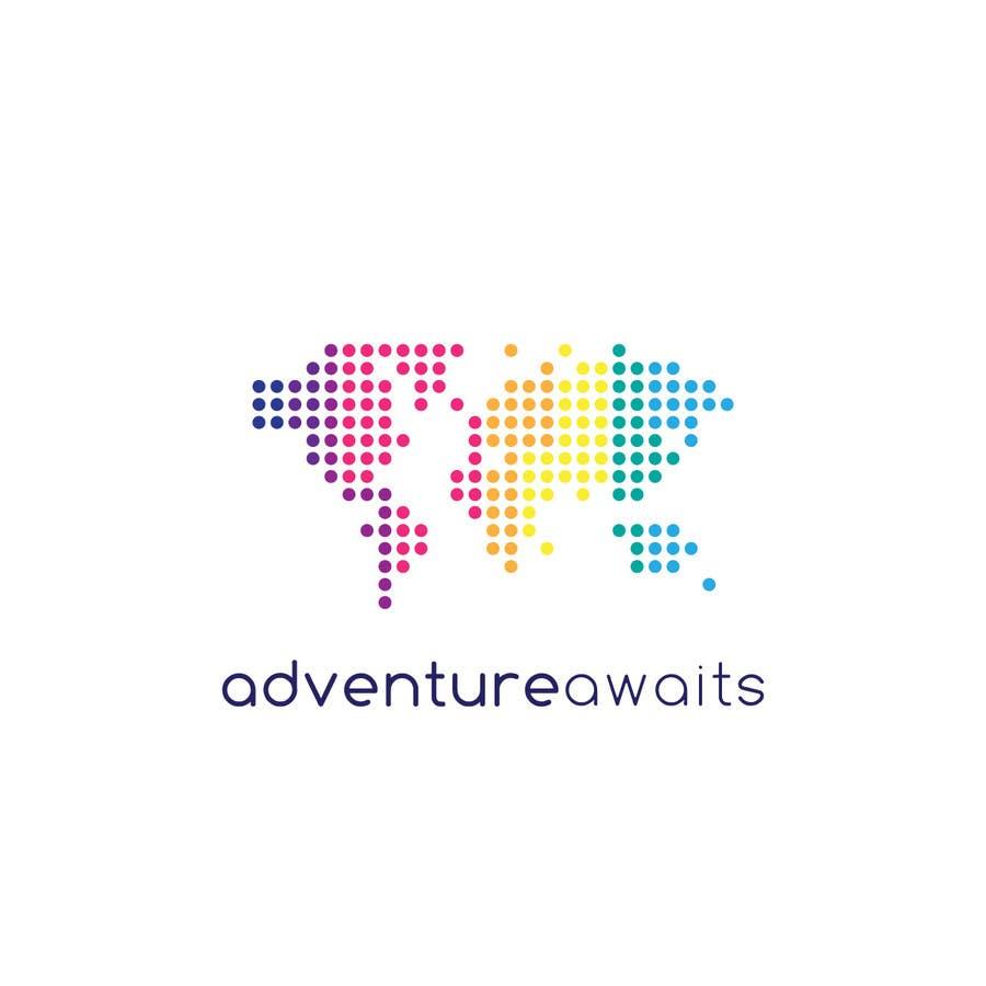 "Kilpailutyö #                                        40                                      kilpailussa                                         Design a Logo for a Family Adventure Company ""Adventure Awaits"""