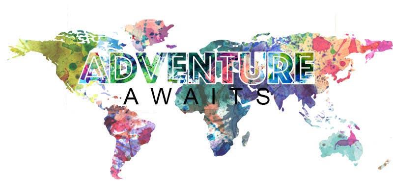 "Kilpailutyö #                                        64                                      kilpailussa                                         Design a Logo for a Family Adventure Company ""Adventure Awaits"""