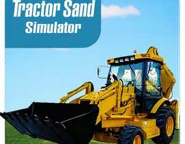 #20 for Create an ICON for Tractor Sand Excavator Operate by farhanabiy