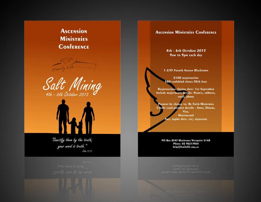 Inscrição nº                                         14                                      do Concurso para                                         Flyer Design for Family Life Ministries