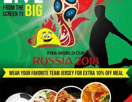 #18 for Design a Fifa World Cup Flyeer by d3stin