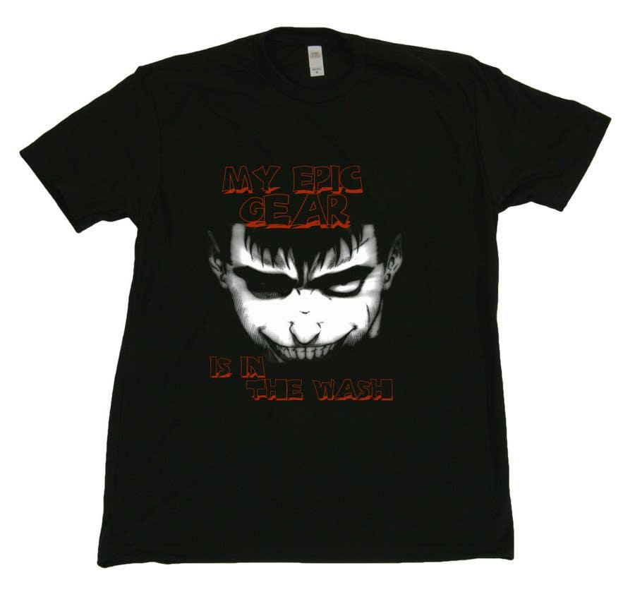 Penyertaan Peraduan #                                        62                                      untuk                                         Gaming theme t-shirt design wanted – Epic Gear