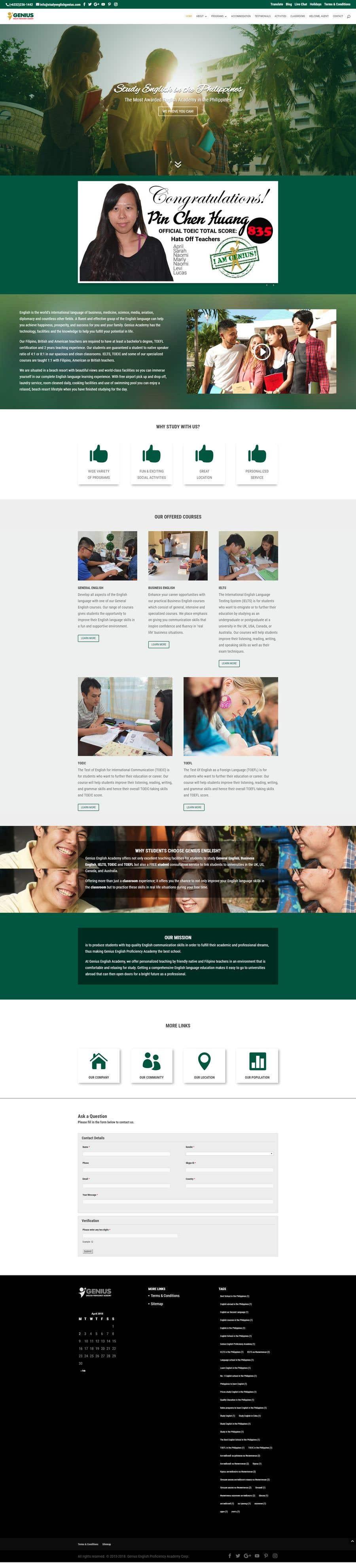 Konkurrenceindlæg #11 for Victory Academy Web Design