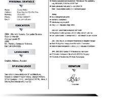 #1 for Resume and Cover Letter by GENIUSGRAPHIC