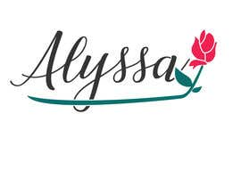 "Nro 26 kilpailuun I would like a logo designed for "" Alyssa Rose"" I was thinking a design with the name Alyssa and a rose in it some where. This is more of a brand. Please any creative ideas will be considered. käyttäjältä MareGraphics"