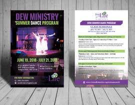 #82 for Summer Dance Program Flyer by biswajitgiri