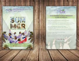 #87 for Summer Dance Program Flyer by awaisahmedkarni