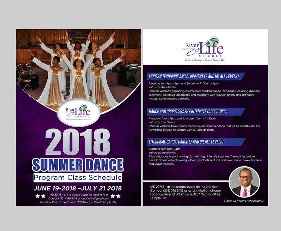 Bài tham dự cuộc thi #38 cho Summer Dance Program Flyer