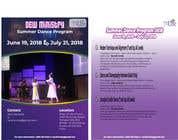 Bài tham dự #23 về Graphic Design cho cuộc thi Summer Dance Program Flyer
