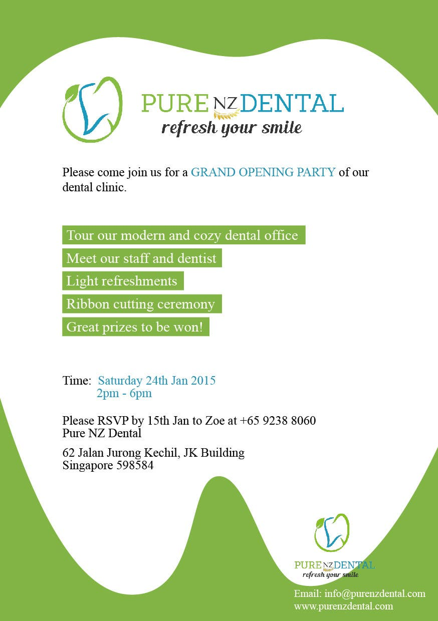 Dental Clinic Inauguration Invitation Cards India | Infoinvitation.co