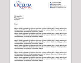 #37 para Develop a corporate identity for Excelcia Capital por papri802030
