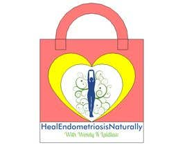 #9 for Heal Endometriosis Naturally Shopping Bag by RENEDIAZCAD