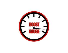 "#14 for LOGO Inspired of a ""boost gauge"" af janainabarroso"